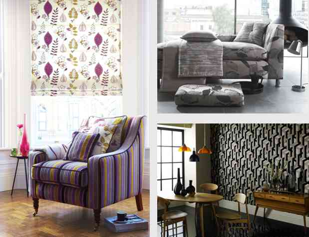 Fabric and wallpaper collections by Prestigious Textiles, Jamboree, Stardom, Urban