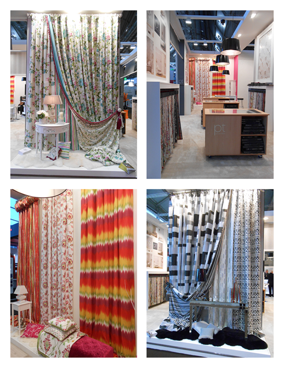 Prestigious Textiles, exhibitons, shows, new collections, spring 2014