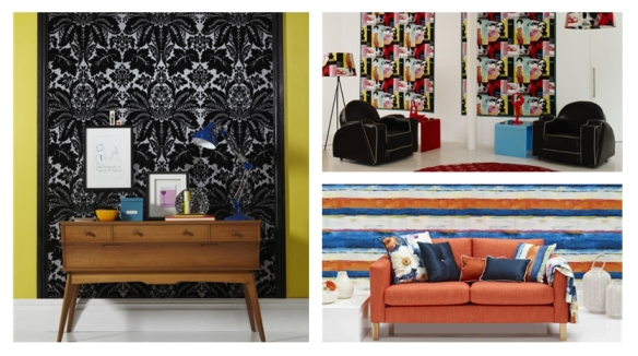 Prestigious Textiles collections - Diva, Life and Vivo wallcoverings